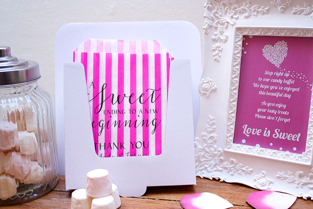 Personalised-Wedding-Sweet-Bags-SWRILY-SWEET-ENDING-Candy-Cart-Wedding-Favours-C
